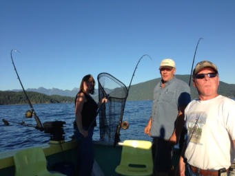 BC Fishing Tours, Salmon, Coho - Gibsons Landing Harbour